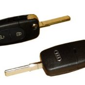 AUD01 Guaranteed Audi A6 Allroad Flip Remote Key Case with Key Cut to your car