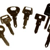 Peugeot and Talbot Car Keys